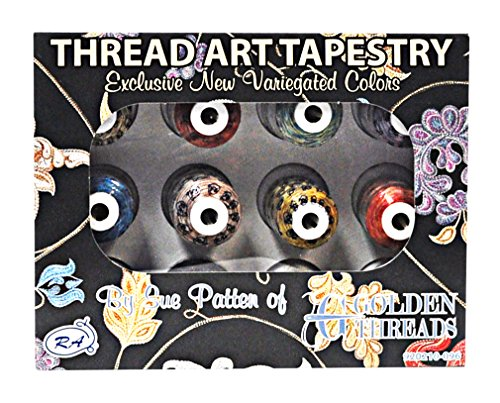 Thread Art Tapestry 12 Mini King Spools