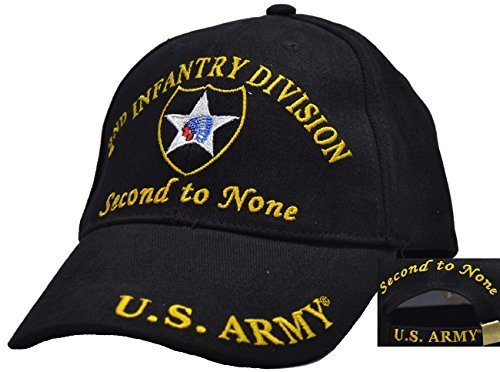 2nd Infantry Division Embroidered Ball - Infantry Division Cap Ball