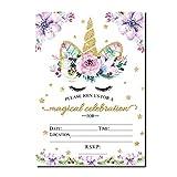 Magical Unicorn Birthday Invitations, Outego