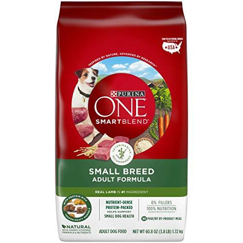 Purina ONE SmartBlend Small Breed Lamb & Rice Formula Adult Dry Dog Food - 3.8 lb. Bag