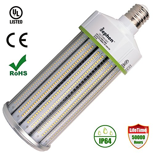 Dephen 150 Watt LED Corn Bulb 20250 Lumens(1000W Equivalent) Large Mogul E39 Base 5000K Daylight AC100-277V 360° Street/area Lighting Replacement for Metal Halide Bulb, HID, CFL, HPS(UL-Listed) by dephen