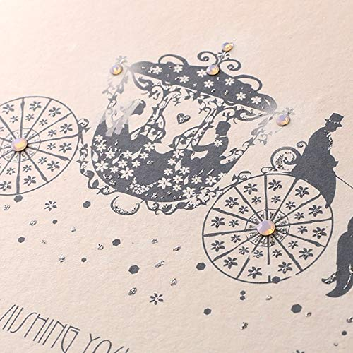 Five Dollar Shake RT10 Return to Romance -Wishing You A Fairytale Wedding /& A Happy Ever After Wedding Card