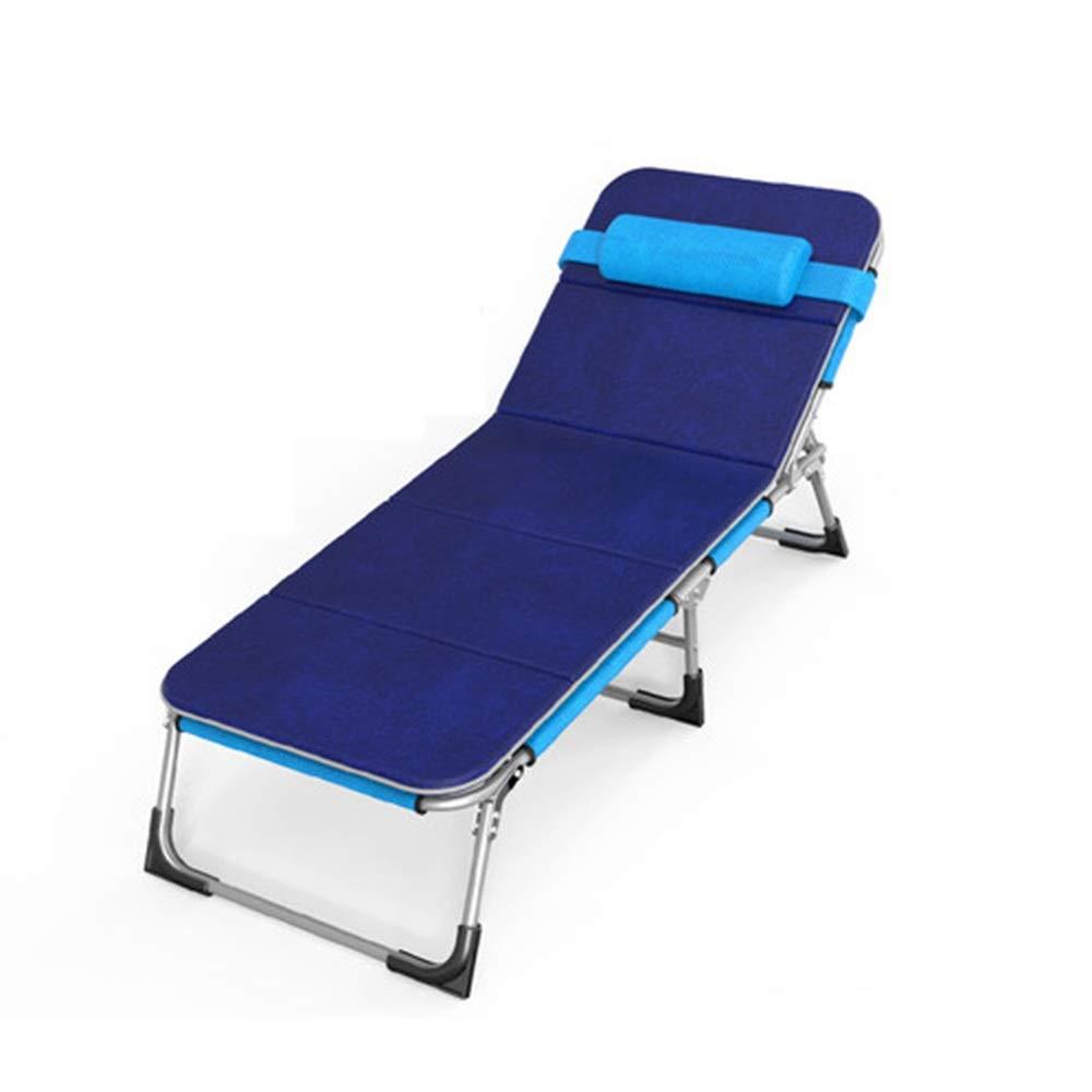 My-JUAN.97 - ラウンジチェア ラウンジャーベッド、シンプルリクライニングチェア、折りたたみ式シーツ、人、仮眠ベッド、目に見えないベッド、付随ベッド - 0123 B07T2G6C7S