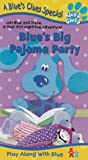 Blue's Clues - Blue's Big Pajama Party [VHS] [Import]