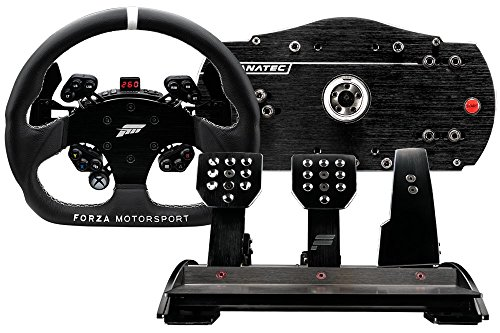 Fanatec Forza Motorsport Racing Wheel and Pedals Bundle for Xbox One and PC