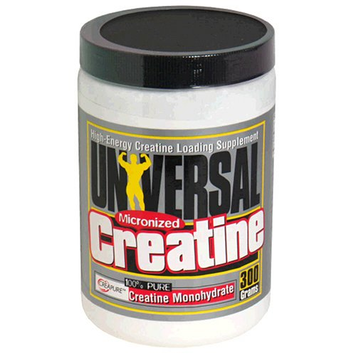 Universal Nutrition Micronized Creatine Powder, 300-Gram Pla