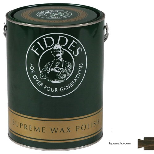 Fiddes Supreme Jacobean Wood Wax Polish/Restorer 5ltr by Fiddes by Fiddes