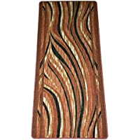 Washable Non-Skid Carpet Rug Runner - Jazzy Terra Cotta (5)