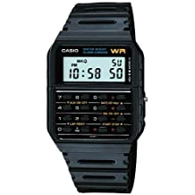 Casio Classic DataBank Calculator Watch, with Alarm, and Stopwatch, Auto Calendar, and is Water Resistant
