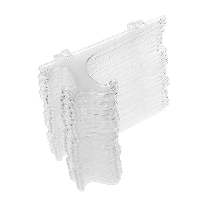 """11 opinioni per SODIAL (R) 5 """" Cavalletti di plastica trasparente o la piastra Supporti-"""
