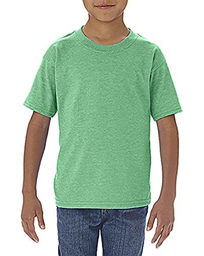 By Gildan Gildan Toddler Softstyle 45 Oz T-Shirt - Hthr Irish Green - 3T - (Style # G645P - Original Label) (Little Boy Shirt Labels)