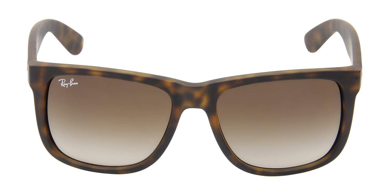 e4881c9a29 Ray-Ban RB4165 710 13 Justin Classic Gradient Unisex Sunglasses Tortoise   Amazon.co.uk  Clothing