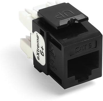 [SCHEMATICS_4LK]  Leviton 61110-RE6 eXtreme 6+ QuickPort Connector, CAT 6, Black - Electrical  Distribution Wall Plates - Amazon.com   Leviton Rj45 Jack Wire Diagram      Amazon.com