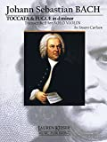 img - for Toccata and Fugue in D Minor: for Solo Violin book / textbook / text book
