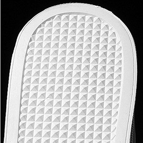 Pigre LIUXUEPING Scarpe Scarpe Scarpe Metti Selvaggio Fondo Traspirante Piatto Tela Scarpe Black Sottile Estate Studente di Piede Sezione Bianche zqwzrF8