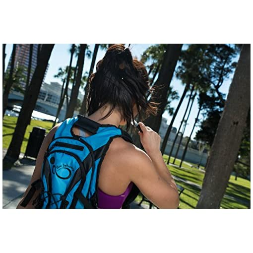 Hydration Backpack With 2.0L TPU Leak Proof Water Bladder