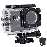 SJCAM Original SJ4000 WiFi Action Camera 12MP 1080P H.264 1.5 Inch 170° Wide Angle Lens Waterproof Diving HD Camcorder Car DVR (Black)