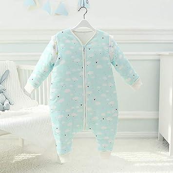Bebé Se Puede Dividir En La Pierna Saco De Dormir Engrosamiento De Otoño Y El Invierno