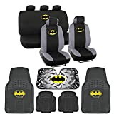 7 Batman Seat Cover Rubber Floor Mat And Sun Shade