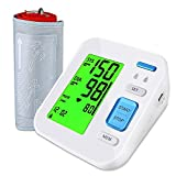 Home Blood Pressure Monitor Upper Arm, BP Automatic Digital Ambulatory Monitoring Adopt Dual