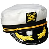 Jacobson Hat Company Men's Adult Yacht Cap, White, One Size
