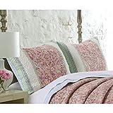 Barefoot Bungalow Palisades Pastel Pillow Shams (Set of 2) King Sham