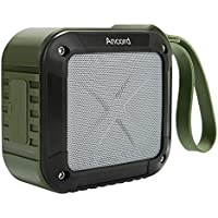 Portable Wireless Bluetooth Speakers With FM Radio by Ancord,Enhanced Bass & Built-In Microphone 12 Hour Rechargeable Battery Waterproof Perfect Speaker for Golf,Beach,Outdoor,Shower & Home (Green)
