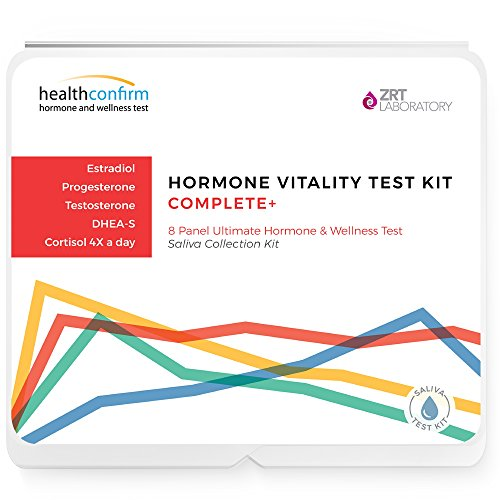 (Hormone Vitality Test Complete, Saliva Collection (8 Hormones Tested))