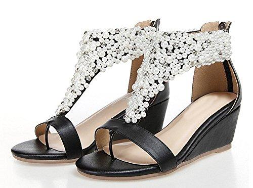 GetmorebeautyUpdate - Zapatos de tacón  mujer negro