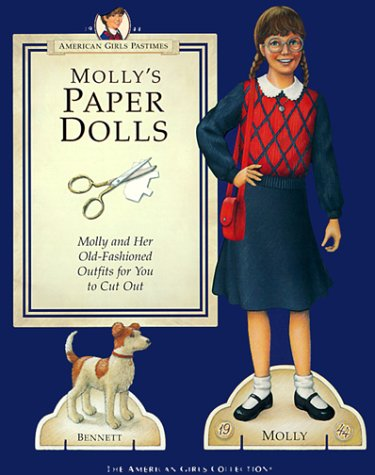 Molly's Paper Dolls (American Girls Pastimes) (Molly American Girl Doll Books)