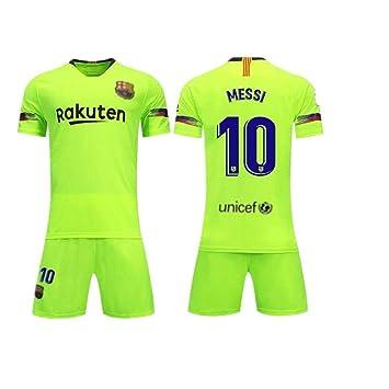 Barcelona Jersey 18-19 Barcelona Home 10# Messi Traje de ...