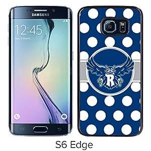 NCAA Rice Owls 9 Black Popular Custom Design Samsung Galaxy S6 Edge G9250 Phone Case