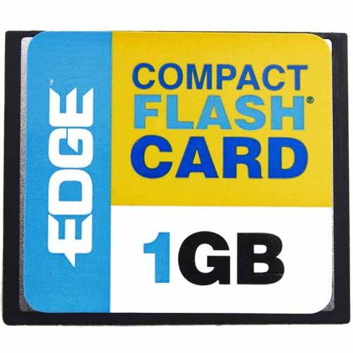 EDGE Tech Corporation 1gb Edge Premium Compact Flash Card (cf - Edge Premium Compactflash Card