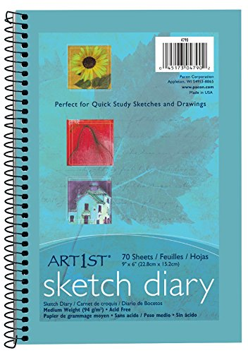 (Pacon Artist Sketch and Drawing Diaries (Pacon), 9