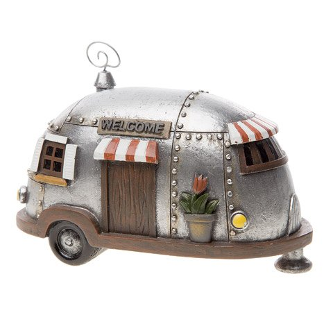 Mini Camper Silver 3X6.5IN Resin (1 Pack) for sale  Delivered anywhere in USA
