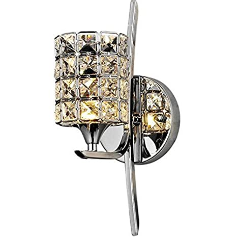 Lightess crystal wall sconce lighting modern wall lights glass wall lightess crystal wall sconce lighting modern wall lights glass wall lamp for bathroom home mirror light aloadofball Gallery