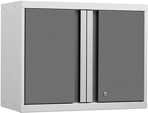 NewAge Products Pro 3.0 White Wall Cabinet, Garage Cabinet, 52400
