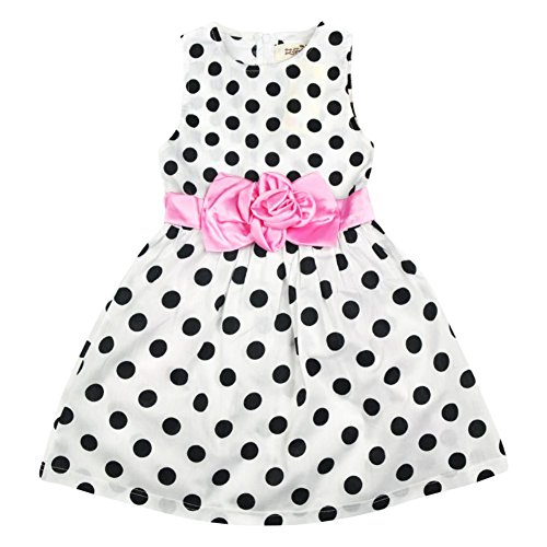 Zhengpin Baby Girls Polka Dot Dress Princess Party Wedding Tutu Dresses (Perfectly Princess Tutu Dress)