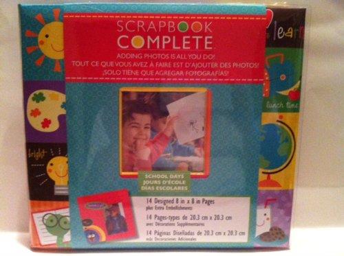 School Embellishment (School Days Complete Scrapbook with 3D)