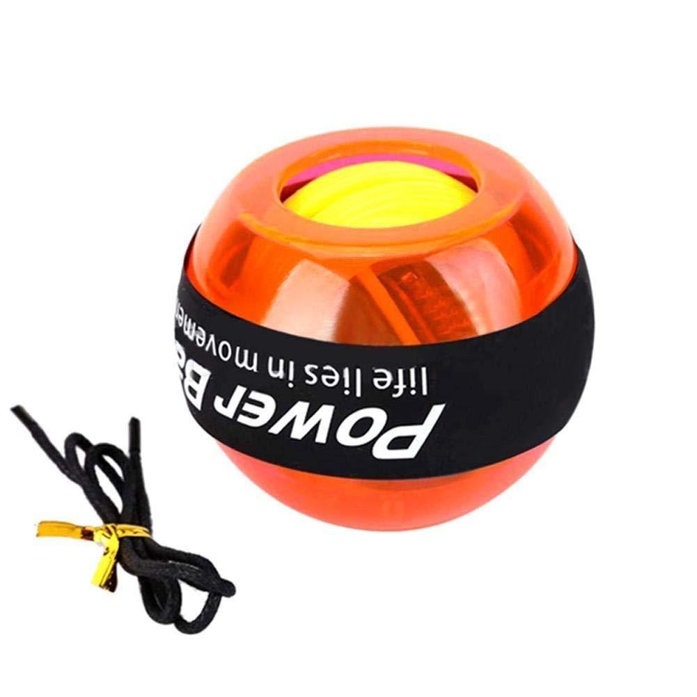 WMM - Wrist ball Models Gyroscopes - Wrist Strengthener, Grip Strengthening Gyro Ball (Color : Orange) by WMM - Wrist ball