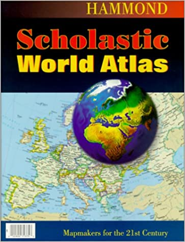 Hammond scholastic world atlas 9780843713756 reference books hammond scholastic world atlas gumiabroncs