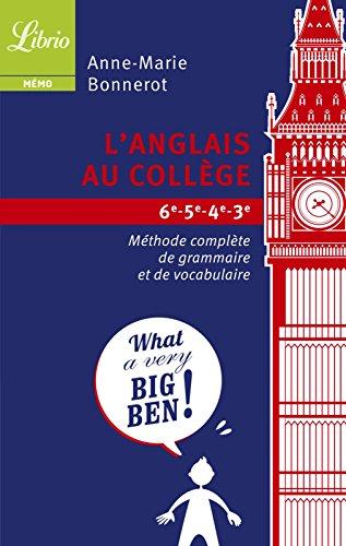 L'anglais au collège (LIBRIO MEMO) (French Edition)