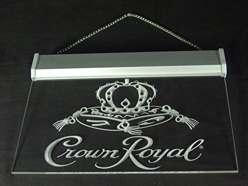 Crown Royal Derby Whiskey Pub Led Light Sign by Lamazo