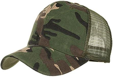 JUNGEN Gorra de béisbol de Camuflaje con Diseño de Rejilla ...