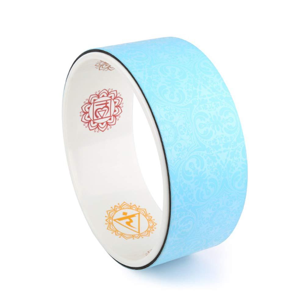 LBAFS Yoga Wheel - Dharma Wheel/Pilates Circle, Ideal Zum Dehnen, Verbessern Sie Ihre Flexibilität, Balance Und Stärke (12,6