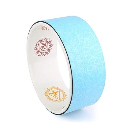 Amazon.com : LBAFS Yoga Wheel - Dharma Wheel/Pilates Circle ...