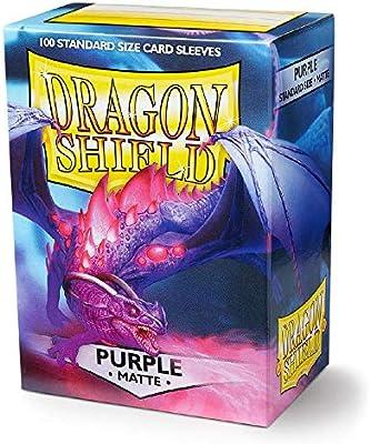 100 Dragon Shield Standard Sized Sleeves-Lilac Tapis-Violet pokemon magic