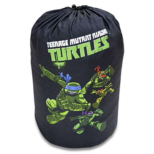 Cambay Linens Nickelodeon Kids Teenage Mutant Ninja Turtles Sleeping Bag Storage Bag, Black by Cambay Linens (Image #4)