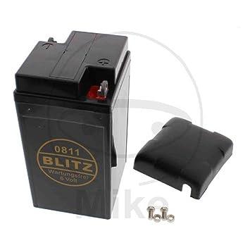 Batterie 0811 schwarz beschichtet