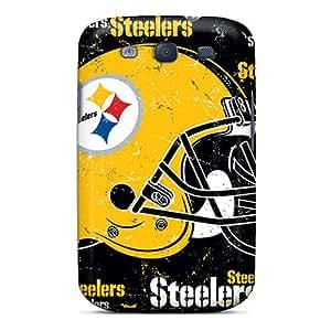 Samsung Galaxy S3 SMy8885kNLV Custom Attractive Pittsburgh Steelers Image Shockproof Hard Cell-phone Case -WandaDicks